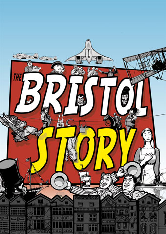 Cover image for Venue magazine to coincide with their give-away of The Bristol Story.