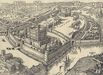 Bristol Castle in the Days of its Glory F G Lewin (Bristol Libraries).