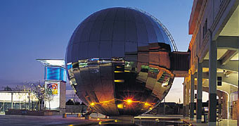 The planetarium at Explore At-Bristol.