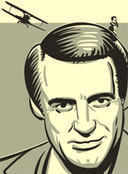 Cary Grant from the comic