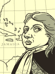 Sir William Penn from the comic