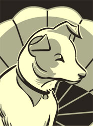 Nipper from the comic