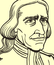 John Wesley from the comic