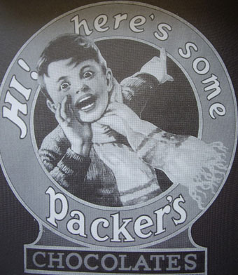 Advertising material for Packer's.