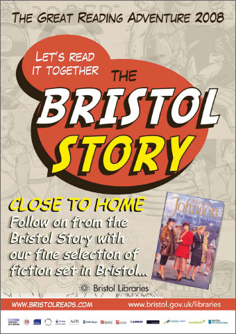Bristol Libraries Close to Home poster.