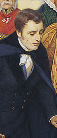 Robert Southey (detail from Some Who Have Made Bristol Famous).