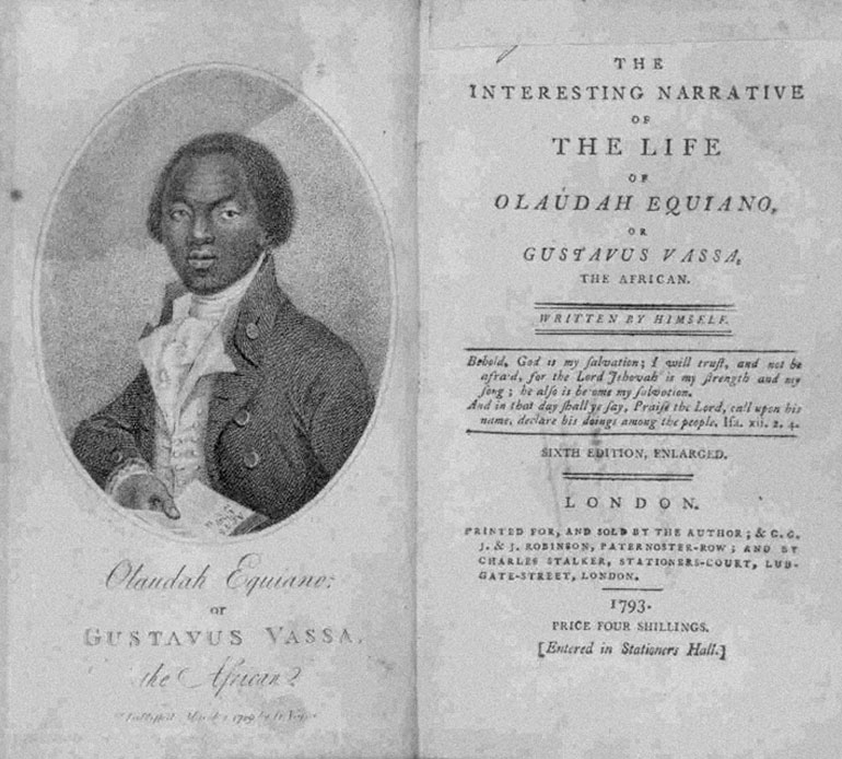 Where was olaudah equiano born